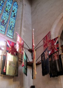 Guidons, colours, ensign and banners