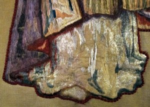 Santa Ecclesia Banner damage