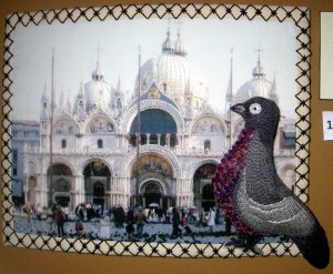 Pigeon at St Mark's