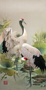 silk-Cranes