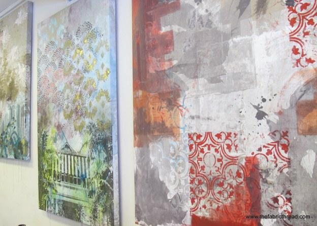 Talking Textiles canvasses