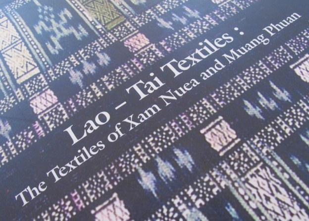Lao-Tai Textile book title
